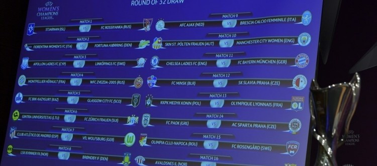 draw list teams
